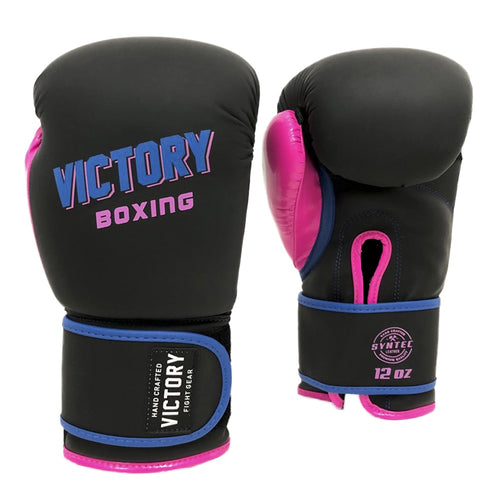 Victory Boxing Miami Vice Black, Pink, Blue