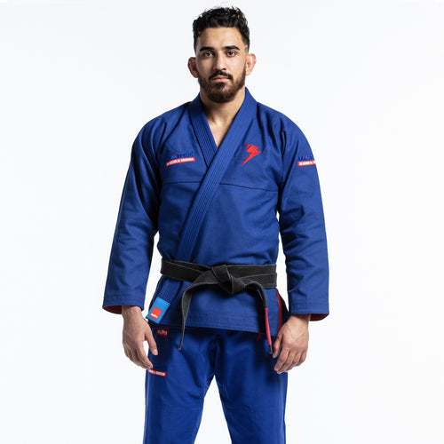 STORM GI MATRIX II KIMONO BLUE - MSM FIGHT SHOP