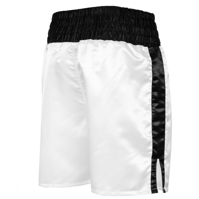 ALI BOXING SHORTS GREATEST IN THE 80'S WHITE/BLACK