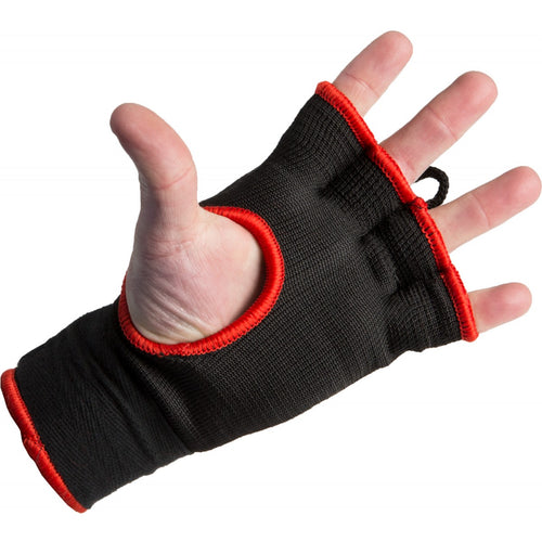 TITLE EASY WRAPS ATTACK NITRO SPEED WRAPS BLACK/RED - MSM FIGHT SHOP