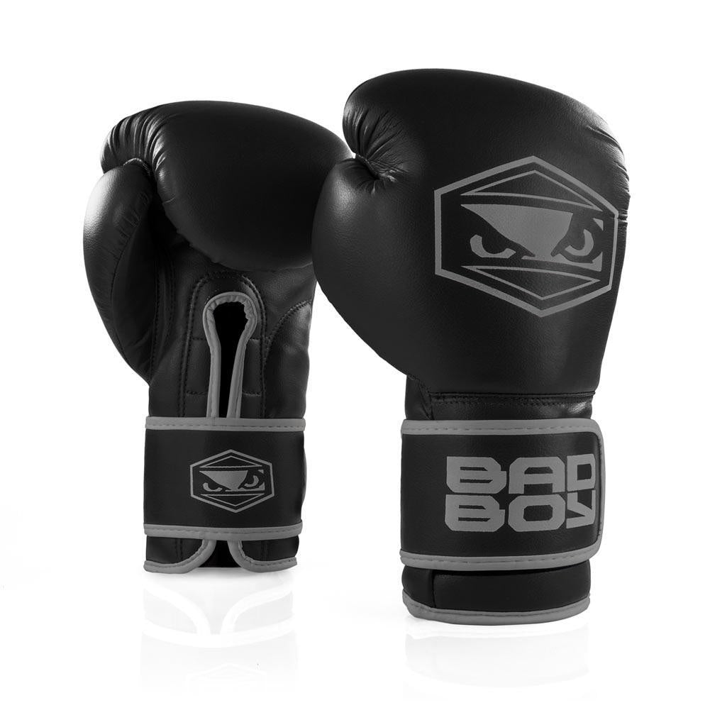 BAD BOY GLOVES STRIKE BOXING BLACK/GREY - MSM FIGHT SHOP