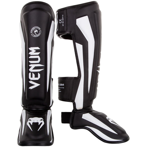 Venum Elite Standup Shinguards - Black/White