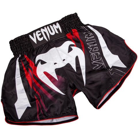 VENUM THAI SHORTS SHARP 3.0 BLACK/RED - MSM FIGHT SHOP