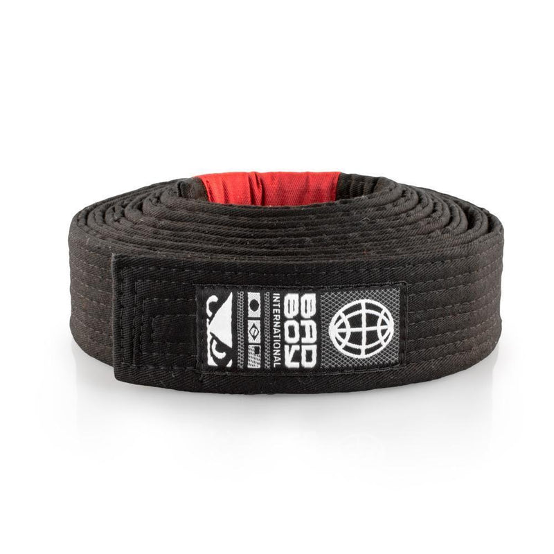 BAD BOY BJJ BELT BLACK - MSM FIGHT SHOPBAD BOY