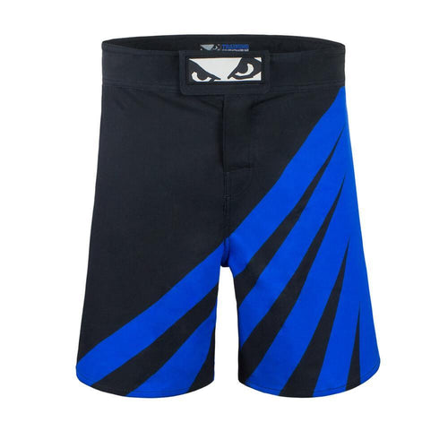 BAD BOY SHORTS TRAINING SERIES IMPACT BLACK/BLUE - MSM FIGHT SHOPBAD BOY