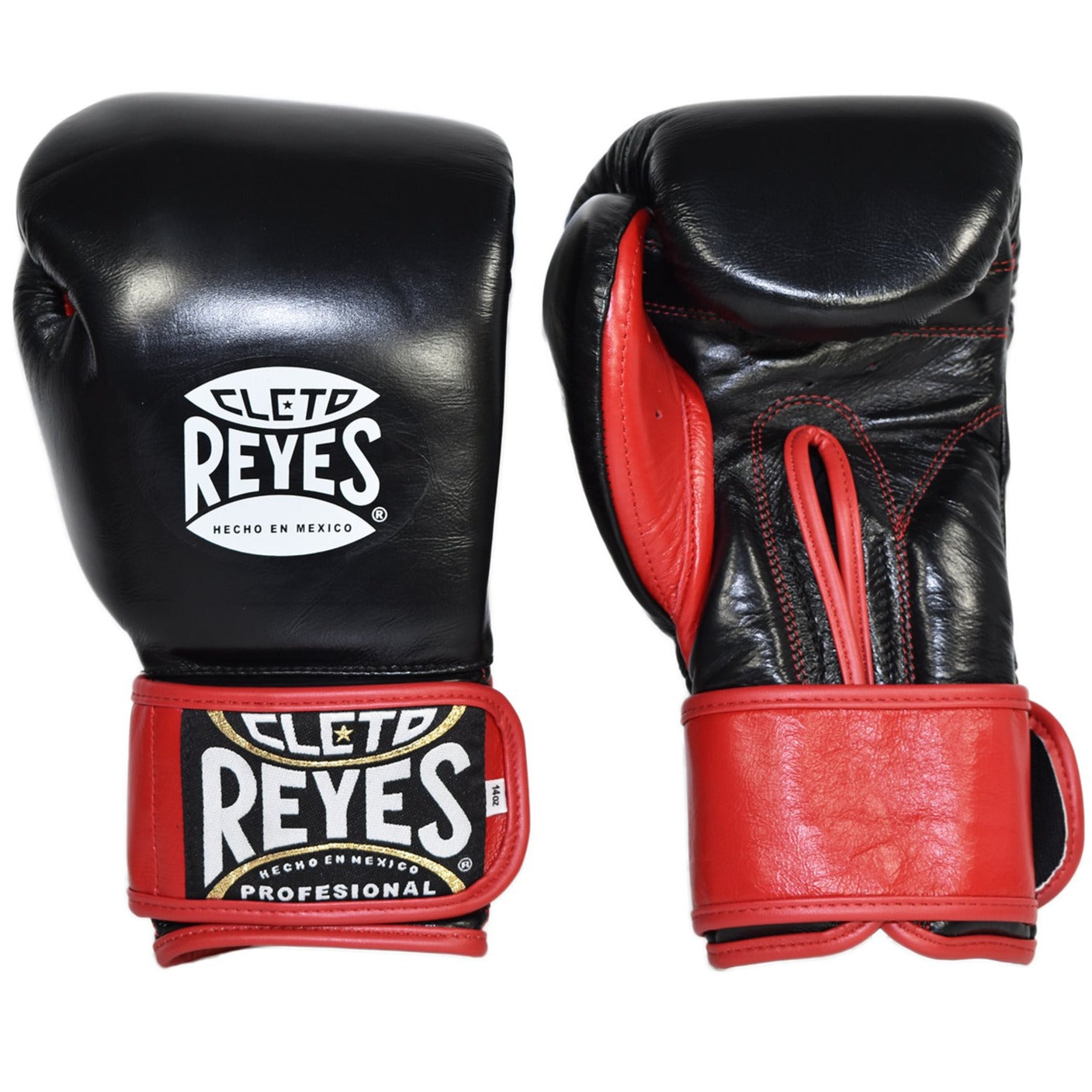 CLETO REYES GLOVES XPAD BLACK/RED - MSM FIGHT SHOP