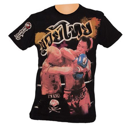 DRAGON DO SHIRT KEVIN MUAY THAI BLACK $19.99