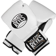 CLETO REYES GLOVES VELCRO BOXING WHITE - MSM FIGHT SHOPCLETO REYES