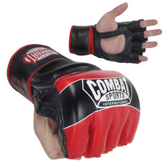 COMBAT SPORTS MMA GLOVES FG3S RED/BLACK - MSM FIGHT SHOPCOMBAT SPORTS