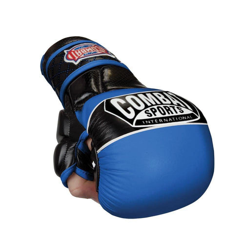 COMBAT SPORTS MMA GLOVES SPARRING TG6 BLUE/BLACK - MSM FIGHT SHOPCOMBAT SPORTS