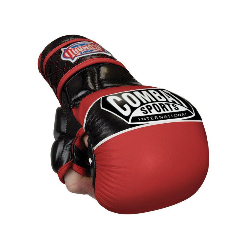 COMBAT SPORTS MMA GLOVES SPARRING TG6 RED/BLACK - MSM FIGHT SHOPCOMBAT SPORTS