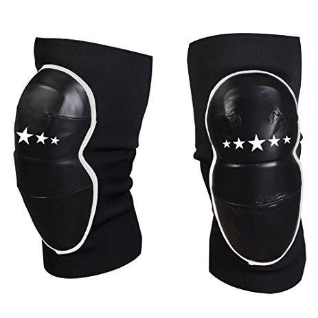 CONTENDER ELBOW GUARD PADS STRIKING BLACK/WHITE - MSM FIGHT SHOPCONTENDER