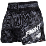 VENUM THAI SHORTS TECMO BLACK/GREY