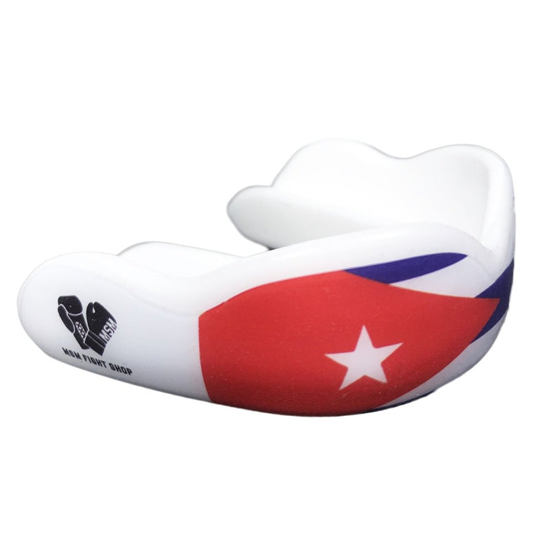 DC MOUTHGUARD ADULT CUSTOM CUBAN FLAG - MSM FIGHT SHOPDAMAGE CONTROL