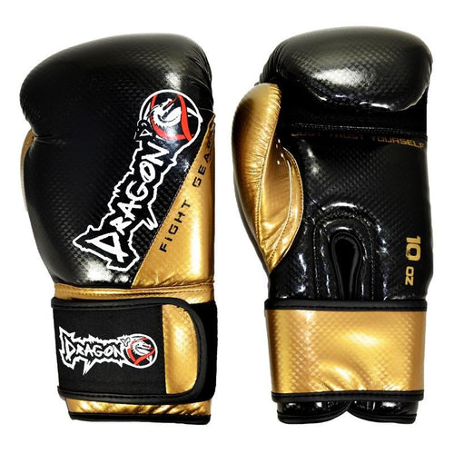 DRAGON DO GLOVES CARBON II BLACK/GOLD - MSM FIGHT SHOPDRAGON DO