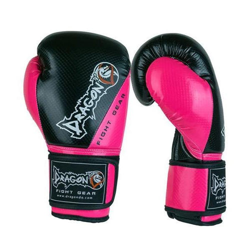 DRAGON DO GLOVES CARBON II BLACK/PINK - MSM FIGHT SHOPDRAGON DO