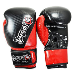 DRAGON DO GLOVES CARBON II BLACK/RED - MSM FIGHT SHOPDRAGON DO