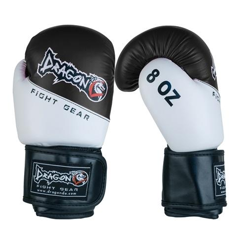DRAGON DO GLOVES YOUTH BOXING BLACK/WHITE - MSM FIGHT SHOPDRAGON DO