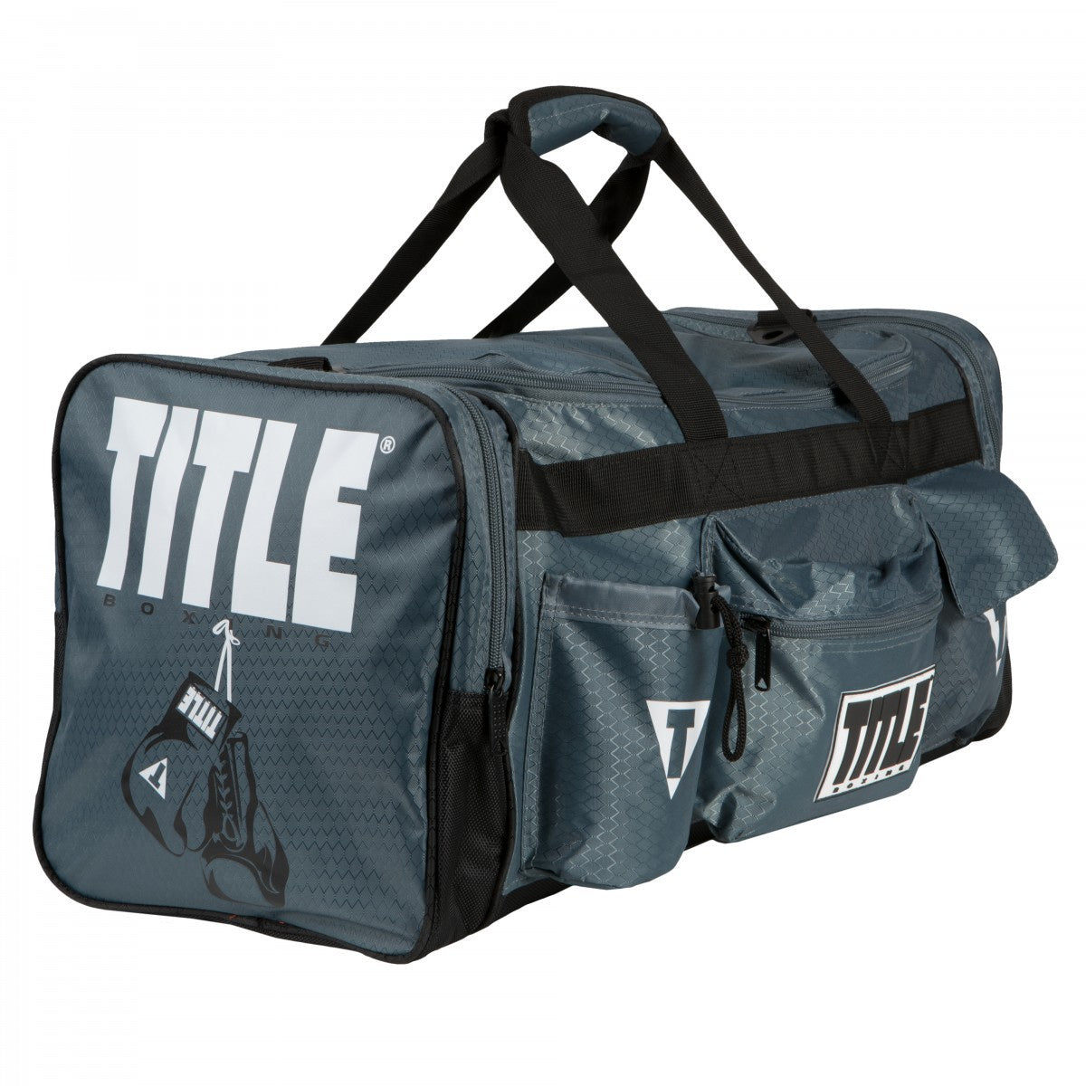 TITLE BAG DELUXE GEAR BAG 2.0 GREY/BLACK