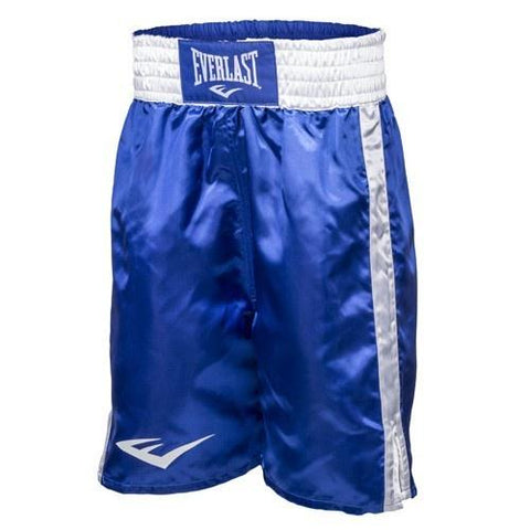 EVERLAST BOXING SHORTS BLUE/WHITE - MSM FIGHT SHOPEVERLAST