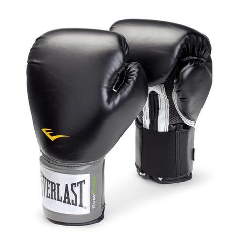 EVERLAST GLOVES BOXING PROSTYLE BLACK - MSM FIGHT SHOPEVERLAST