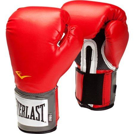 EVERLAST GLOVES BOXING PROSTYLE RED - MSM FIGHT SHOPEVERLAST