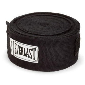 "EVERLAST HANDWRAPS 180"" BLACK - MSM FIGHT SHOPEVERLAST"