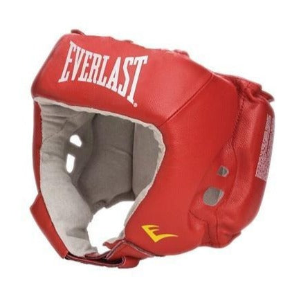 EVERLAST HEADGEAR COMPETITION RED - MSM FIGHT SHOPEVERLAST
