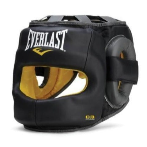 EVERLAST HEADGEAR FULLFACE SAFEMAX C3 BLACK - MSM FIGHT SHOPEVERLAST