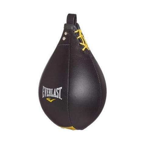 EVERLAST LEATHER SPEED BAG BLACK - MSM FIGHT SHOPEVERLAST
