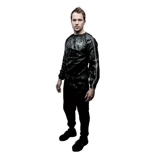 EVERLAST SAUNA SUIT BLACK - MSM FIGHT SHOPEVERLAST