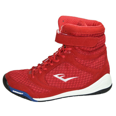EVERLAST SHOES ELITE BOXING RED/WHITE - MSM FIGHT SHOPEVERLAST