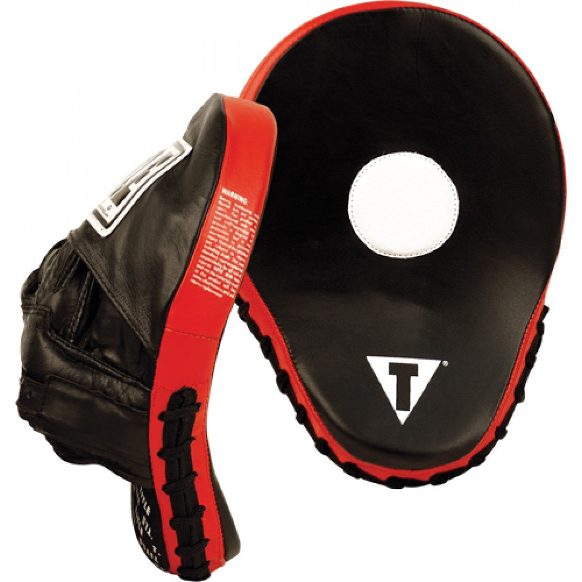 TITLE FOCUS MITTS INCREDI-BALL BLACK/RED - MSM FIGHT SHOP