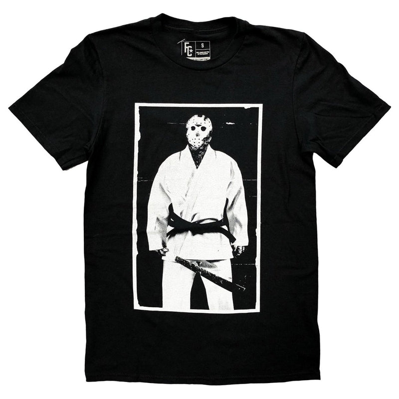 FIGHT CAMP SHIRT JASON JIU JITSU BLACK/WHITE - MSM FIGHT SHOPFIGHT CAMP