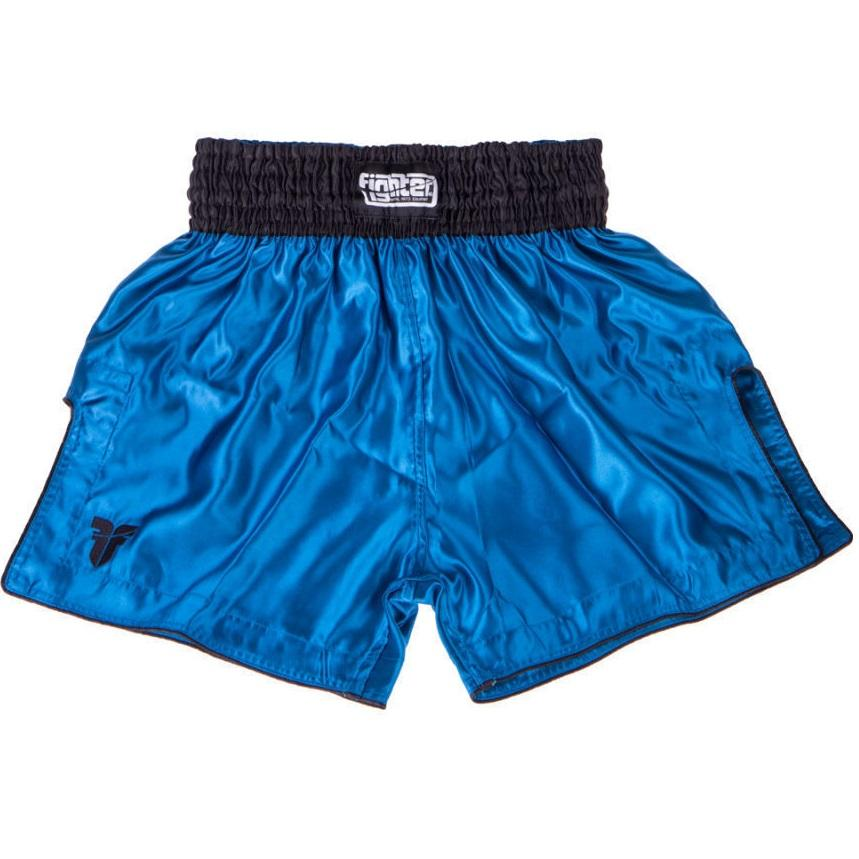 FIGHTER THAI SHORTS CLASSIC BLUE SKY/BLACK - MSM FIGHT SHOPFIGHTERS