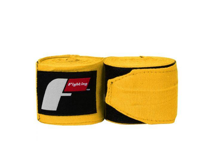 "FIGHTING SPORTS HANDWRAPS PRO 180"" / 5M ELASTIC YELLOW - MSM FIGHT SHOPFIGHTING"