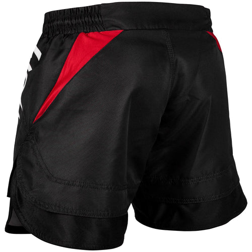 VENUM SHORTS NO GI 2.0 FIGHT SHORTS BLACK/RED - MSM FIGHT SHOP