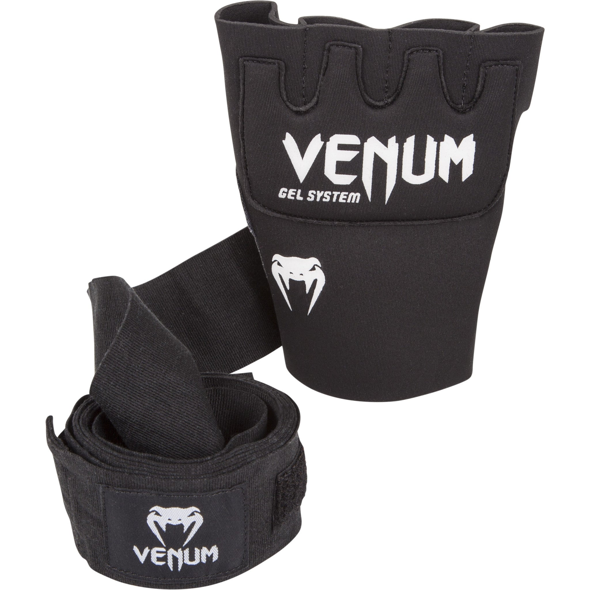 Venum gel glove with wraps