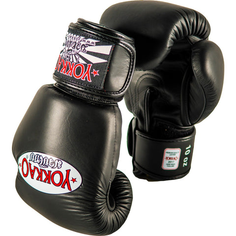 YOKKAO GLOVES THAI MATRIX BLACK