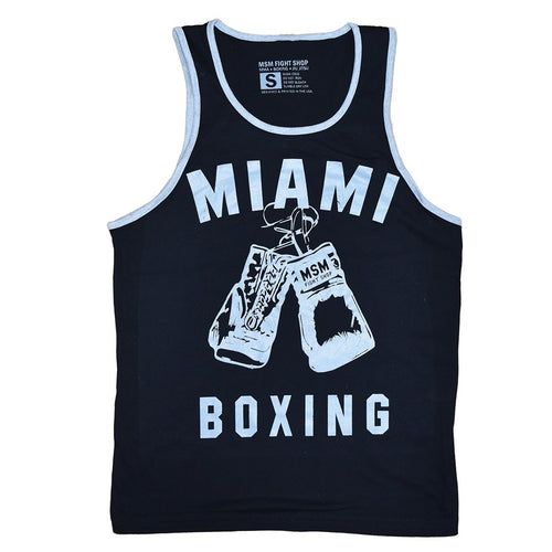 MSM TANK MIAMI BOXING BLACK/GREY - MSM FIGHT SHOPMSM FIGHT SHOP