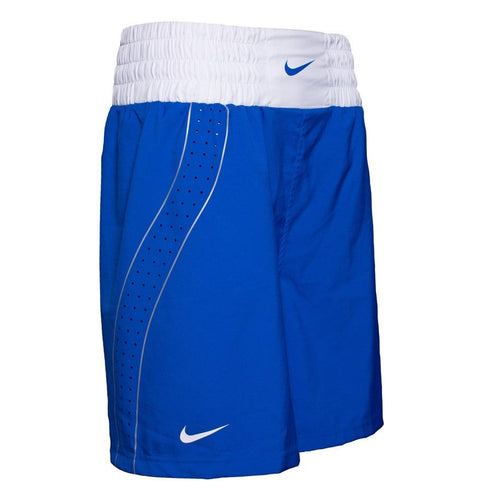 NIKE BOXING SHORTS V2 DRI-FIT BLUE - MSM FIGHT SHOPNIKE