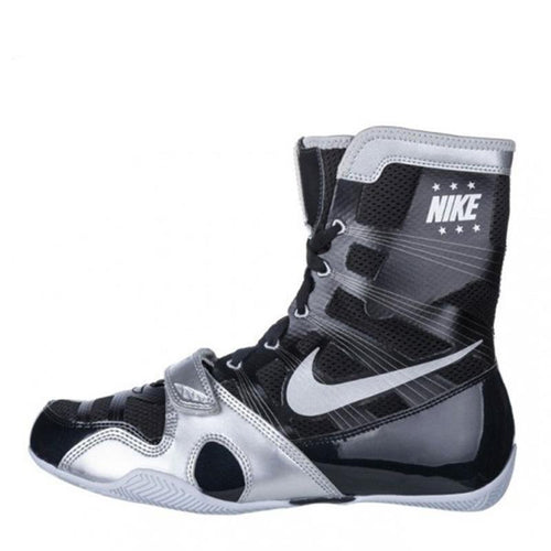 NIKE SHOES HYPERKO BOXING V1 BLACK/SILVER - MSM FIGHT SHOPNIKE
