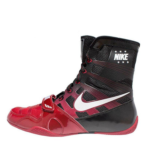 NIKE SHOES HYPERKO BOXING V2 BLACK/RED - MSM FIGHT SHOPNIKE