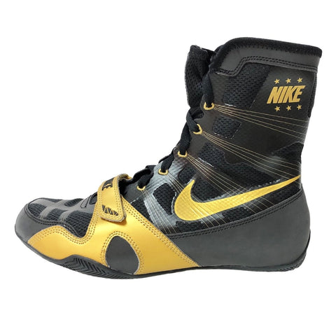 NIKE SHOES HYPERKO BOXING V2 LE BLACK/GOLD - MSM FIGHT SHOPNIKE