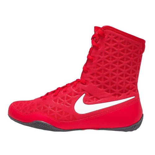 NIKE SHOES KO BOXING RED/WHITE - MSM FIGHT SHOPNIKE
