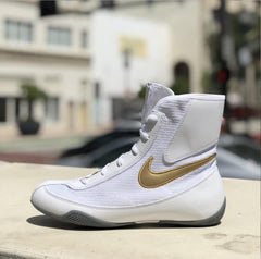 NIKE SHOES MACHOMAI V2 WHITE/GOLD - MSM FIGHT SHOPNIKE
