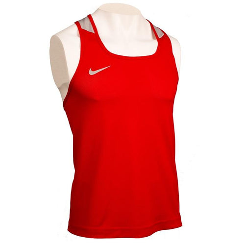 NIKE TANK V1 DRI-FIT BOXING RED - MSM FIGHT SHOPNIKE