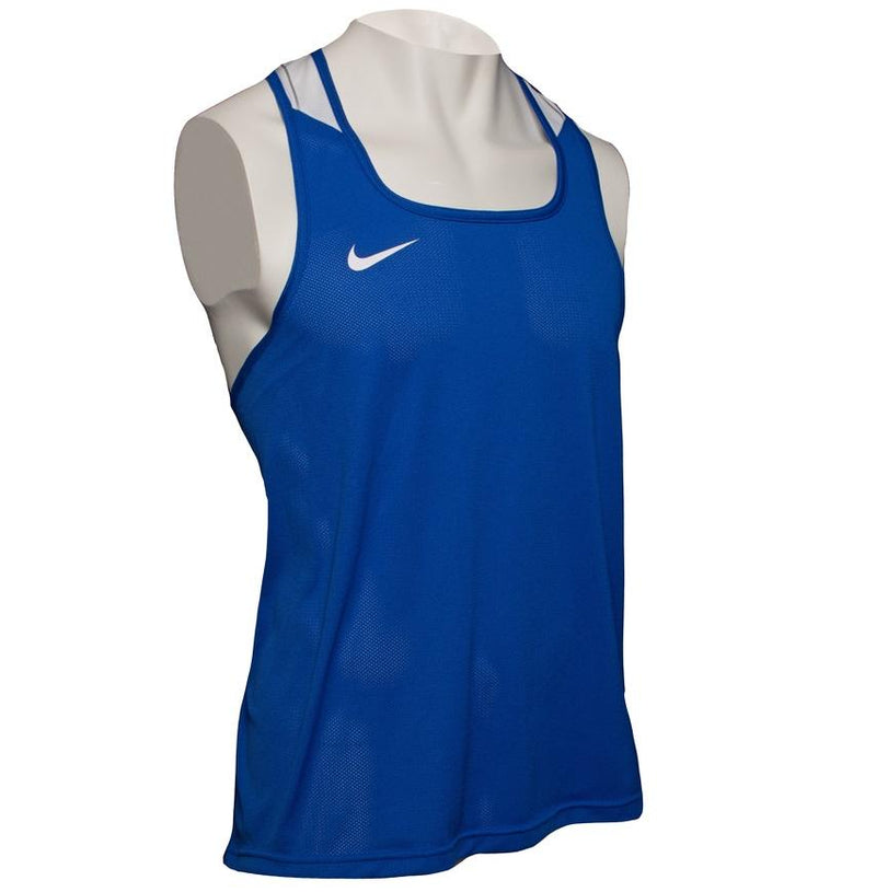 NIKE TANK V2 DRI-FIT BOXING BLUE - MSM FIGHT SHOPNIKE