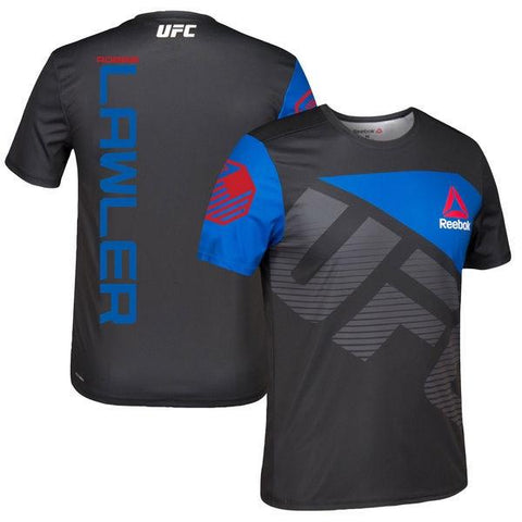 REEBOK UFC JERSEY ROBBIE LAWLER - BLACK/BLUE - MSM FIGHT SHOPUFC
