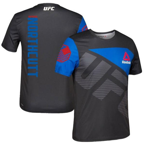 REEBOK UFC JERSEY SAGE NORTHCUTT WALKOUT BLACK/BLUE - MSM FIGHT SHOPUFC